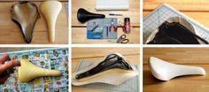 cómo reciclar un sillín en nueve pasos