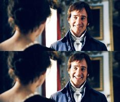 """""""I would have to tell you: you have bewitched me, body and soul, and I love... I love... I love you. And I never wish to be parted from you from this day on."""" -Mr. Darcy, Pride and Prejudice."""