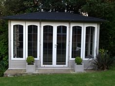 Mr Garrett had this to say about his #summerhouse 'Here is our beautiful summer house and garden retreat,delivered in August 2012 and used nearly every day since.'