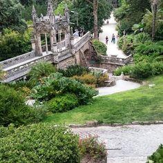 Quinta da regaleira. Sintra. PORTUGAL.