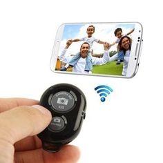 Кнопка для селфи - Bluetooth пульт управления камерой телефона  / alliex.ru