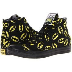 b4f43e4eb50e34 Converse Chuck Taylor All Star Hi - DC Comics Shoes Black High Top Sneakers