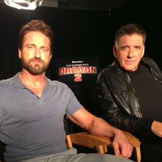 Access Hollywood @Laura Jayson Jayson Jayson Jayson Mrazek Hollywood | Websta -  #howtotrainyourdragon2 junket with Gerard Butler and Craig Ferguson! Scots in the house!