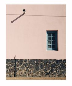 Arizona Architecture Photography, Soft Pastel Pink Home Decor, Barrio Building Photograph, Window Photograph, Southwest Decor on Etsy, $25.00