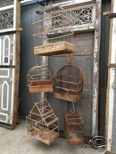 Vintage Bird cage - Antieke winkel decoratie's - Winkelinrichtingen - Burbri