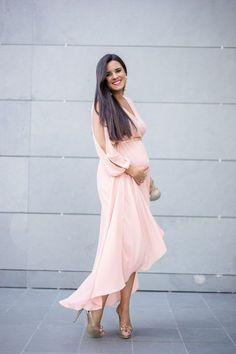 78f0b5e9c Vestido envolvente Moda - Crímenes de la Moda Vestidos Para Embarazadas