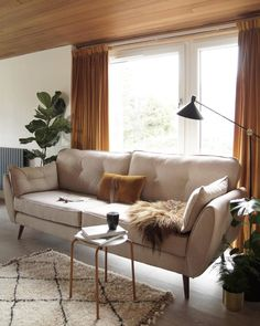 A comfy sofa in time for Christmas. Comfy sofa by French connection available at DFS. Comfy sofa Zinc Express sofa in cream. Beige Sofa Living Room, Mustard Living Rooms, New Living Room, Living Room Decor, Dfs Zinc Sofa, Dfs Sofa, French Connection Sofa, Yellow Curtains, Velvet Curtains