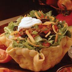 Golden Corral Restaurant Copycat Recipes: Tortilla Salad