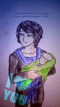 In you... by Squira130.deviantart.com. I'm crying!!! This line was so sweet! And I love how Garmadon was drawn!