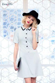Dam cong so - Những mẫu váy đầm công sở đẹp nhất 2015. Thời trang công sở cao cấp Emspo chuyên các BST Đầm công sở dành cho nữ giới nổi tiếng tại Việt Nam.