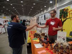 #greenfestexpo, #greenfestdc Tastes as described: Fire Cider