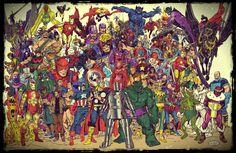 all avengers by namorsubmariner.deviantart.com on @deviantART