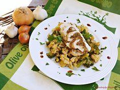 Kriszta konyhája- Sütni,főzni bárki tud!: Rókagombás gesztenyével töltött…