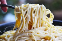 Extra super cheesy pasta - this is fantastic.  Super easy and super delicious.  The gouda was great but you can make this with whatever cheese you have.  Loved it!
