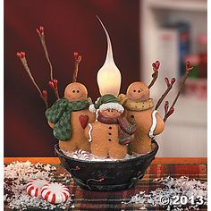 Gingerbreads favorite christmas decor!