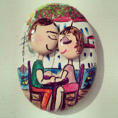 Bodrumda aşk başkadır... Taş Boyama 10 TL finsatis@gmail.com