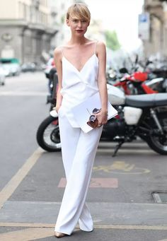 macacao branco look street style