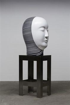 Available for sale from Rena Bransten Gallery, Jun Kaneko, Untitled, Head Ceramic, 69 × 25 × 20 in Ceramic Figures, Ceramic Artists, Art Object, Artist Art, Art And Architecture, Art Forms, Sculpture Art, Original Artwork, Art Pieces
