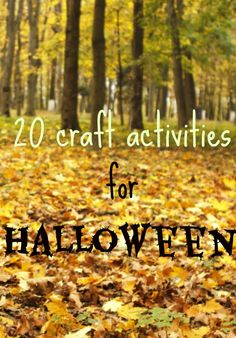 Fab #Halloween arts and crafts from Tots100 Bloggers