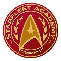 Star Trek Wall Graphics by WALLS 360: Starfleet Academy Badge I -- I so want this for my office/classroom!!!