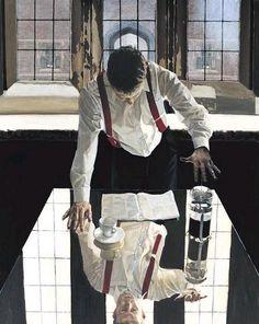 Jack Vettriano ~ Coffee Aprés Le Whiskey Et L'Amour ..... Artodyssey
