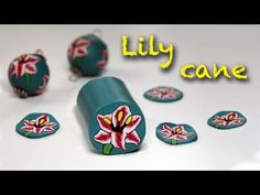 Polymer clay tutoria l- Lily flower cane- Murrina Giglio - Iris - YouTube
