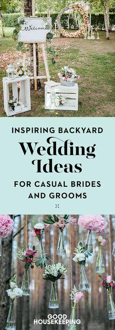 Wedding Reception At Home, Budget Wedding, Diy Wedding, Rustic Wedding, Wedding Ideas, Suprise Wedding, Small Wedding Receptions, Wedding Inspiration, Camp Wedding