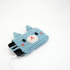 crochet cover for Ipod touch