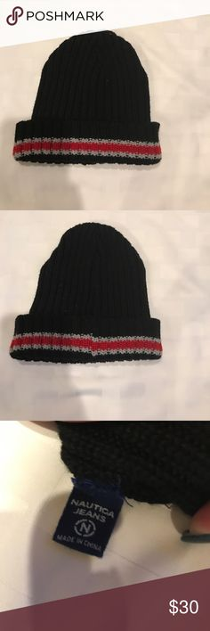 d46b9b53d95 Men s Nautica Jeans sock hat BNWOT Men s Nautica Jeans sock hat. A perfect  purchase for the upcoming winter. Free gift with purchase🎁 Nautica  Accessories ...