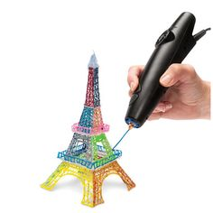 The World's First 3D Printing Pen - Hammacher Schlemmer Oh, my, gosh, the possibilities!  My mind is literally bursting!