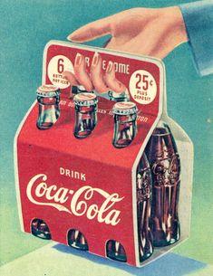 Coca Cola Poster, Coca Cola Drink, Cola Drinks, Coca Cola Ad, Coca Cola Bottles, Retro Ads, Vintage Advertisements, Vintage Ads, Vintage Signs