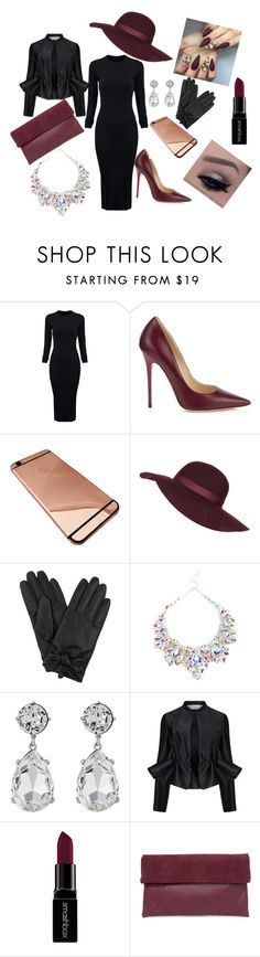 """""""lady_"""" by ermina-l ❤ liked on Polyvore featuring WithChic, Jimmy Choo, Topshop, Kenneth Jay Lane, Victoria, Victoria Beckham, Smashbox, Triple 7, women's clothing, women and female"""