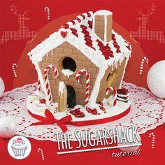 You asked, we delivered! Here it is: our latest Tutorial on how to create cute little houses! Hope you like it! Gingerbread house!  Vous nous l'avez demandé, le Voici: Notre tout dernier Tutoriel: une maison en pain d'épice.  Unsere neuste Anleitung:  Lebkuchenhaus