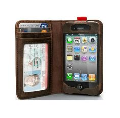 Retro book cowhide Personalized iphone4 Case wallet iphone5 Cover iphone4s Case Cover iphone 5s bag