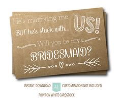 cute poem to ask a bridesmaid | Wedding Ideas | Pinterest | Poem ...