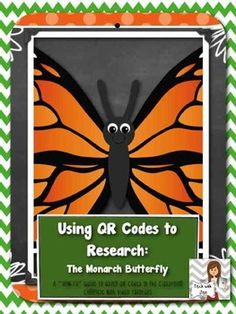 Have you ever used QR codes in the classroom? Your students will love Using QR Codes to Research: The Monarch Butterfly $