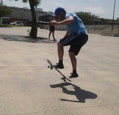 My dad can still skate!