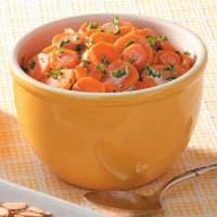 Belgian-Style Carrot Coins Photo