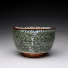matcha chawan pottery bowl handmade tea bowl by rmoralespottery