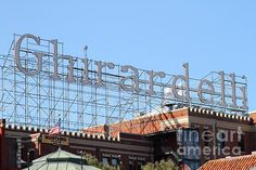 Ghirardelli Chocolate Factory...the best chocolate!!
