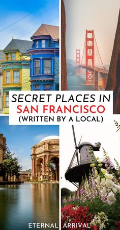 Planning to visit San Francisco? Here are the best secret places to visit in San Francisco, with offbeat San Francisco tips from a local.  San Francisco hidden gems | San Francisco Instagram | San Francisco photography ideas | San Francisco views | unique things to do in San Francisco, California | San Francisco locals guide | San Francisco like a local | alternative San Francisco | San Francisco off the beaten path | California travel | San Francisco travel | unique places in San Francisco Places In San Francisco, Living In San Francisco, San Francisco Trip, San Francisco Travel Guide, San Francisco California, Visit California, California Travel, Southern California, Usa Travel Guide