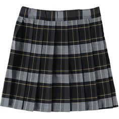 "French Toast ""Bella"" Plaid Skirt (Sizes 4 6X) (540 PHP) ❤ liked on Polyvore"