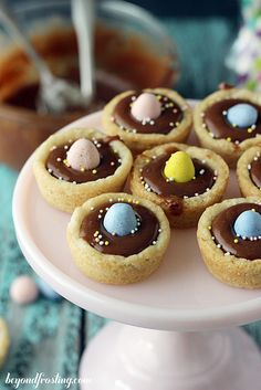 Cadbury Ganache Cookie Cups | beyondfrosting.com | #cadbury #easter by Beyond Frosting, via Flickr