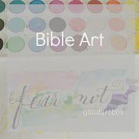 Bible Art #bibleart