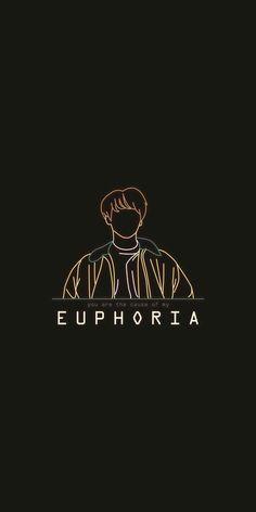 Bts Wallpaper Euphoria 30 Ideas For 2020 Taehyung Selca, Bts Jungkook, Bts Wallpaper Lyrics, Wallpaper Quotes, Black Wallpaper, Iphone Wallpaper Bts, Bts Pictures, Photos, Bts Lyric