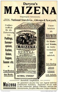 Original-Werbung/ Anzeige 1905 -  MAIZENA NÄHRMITTEL / NATIONAL STARCH CHICAGO…