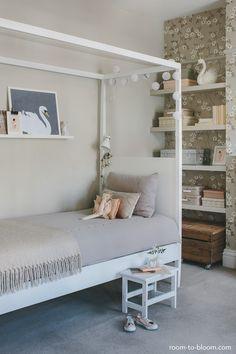 habitacion infantil vintage cama infantil