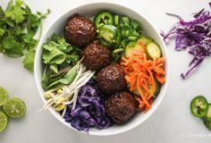 Vegetarian Banh Mi Bowls with Gardein
