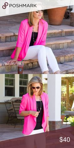 c086e2aa2 New Hot Pink Blazer Brand new with tags