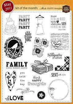 Unity Stamp Company May 2011 Kit of the Month